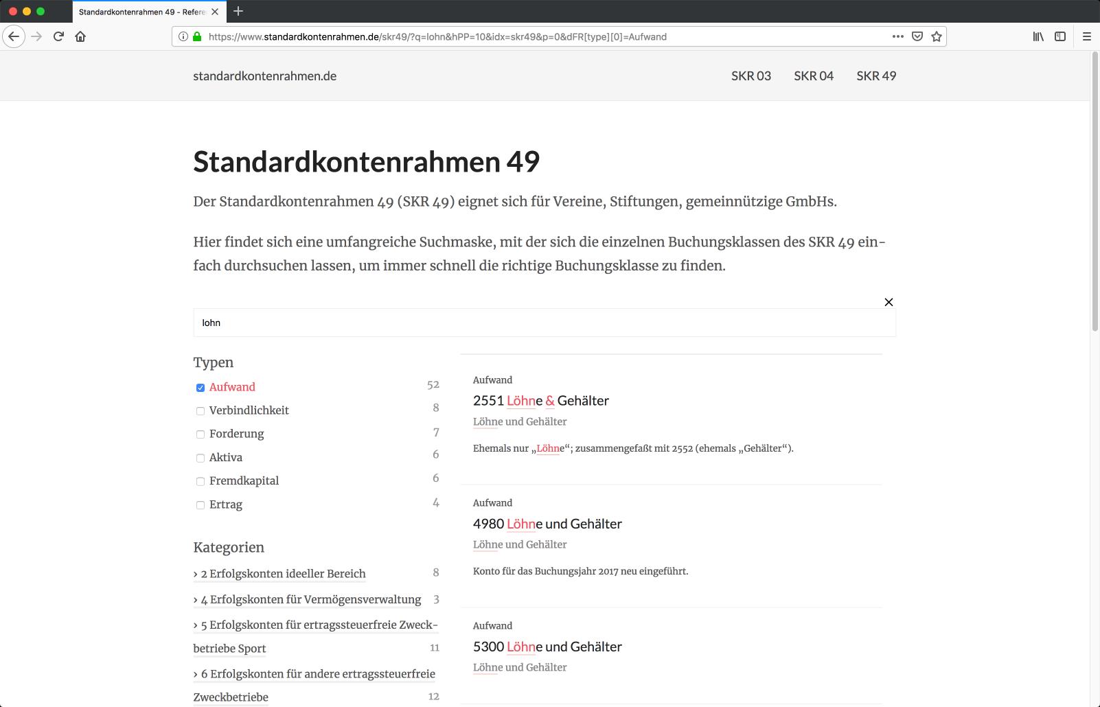 standardkontenrahmen.de